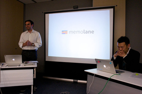 Memolane CEOエリック・ラジェ氏