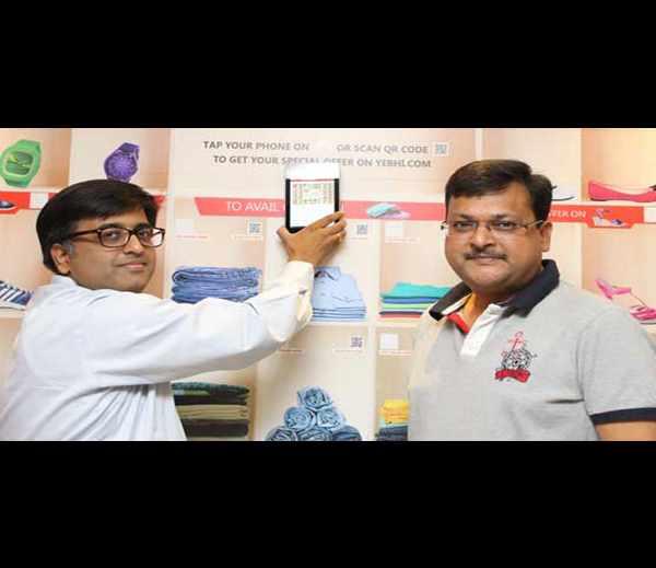 インド Yebhi.com がNFCタグへのタッチから始まるVirtual Storeを開始、まずはコーヒーショップの壁面広告から 【@ohsaka】