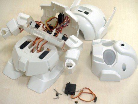 ラピロ(RAPIRO) ースタート直後に80%達成、日本中小企業チームによるロボットキットがKickStarterで大奮闘 【@maskin】