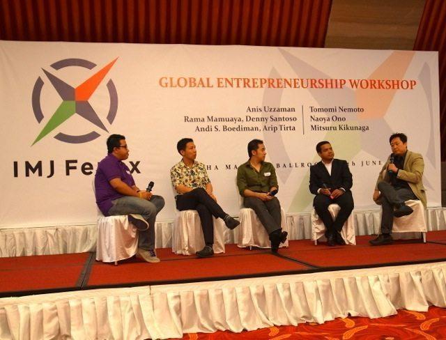 IMJ FENOXがインドネシアでの活動を本格展開、スタートアップ向けワークショップ開催で見えたもの 【増田 @maskin】