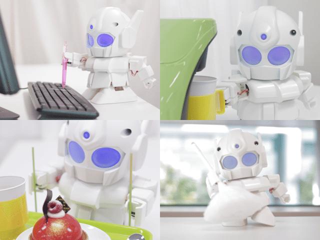 SDガンダムみたい? ハイテクロボットキット「ラピロ(RAPIRO)」のKickStarterプロジェクトが2日たらずで想定金額達成 【@maskin】