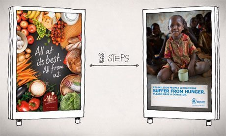 国連WFP、NFCタグを活用した寄付推進プログラムを展開【@ohsaka】