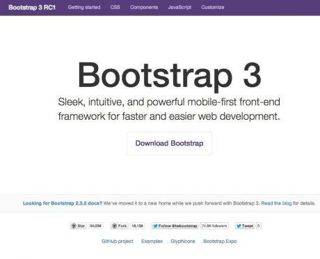 Twitter Bootstrap、ウェブ全体の1%に影響を及ぼすまでに ウェブソース検索meanpathが調査 【@maskin】