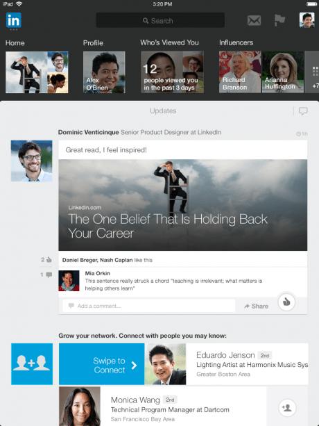机に縛られない仕事へ、LinkedIn (リンクトイン) がモバイルにシフト 【@maskin】