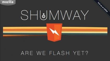 「Shumway」HTML5で作られたFlash Playerが公開  (Firefox版) 【@maskin】