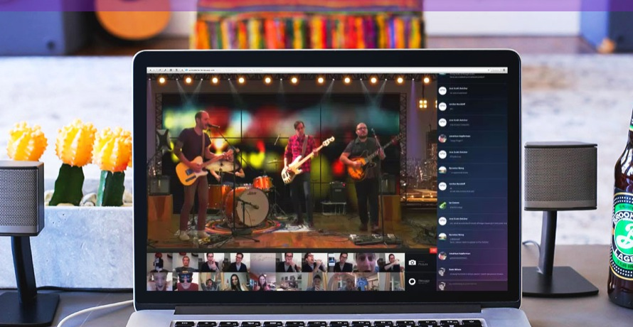 「 turntable 」がライブ対応、クラウドファンディング型でソーシャル視聴の生放送化 【@maskin】