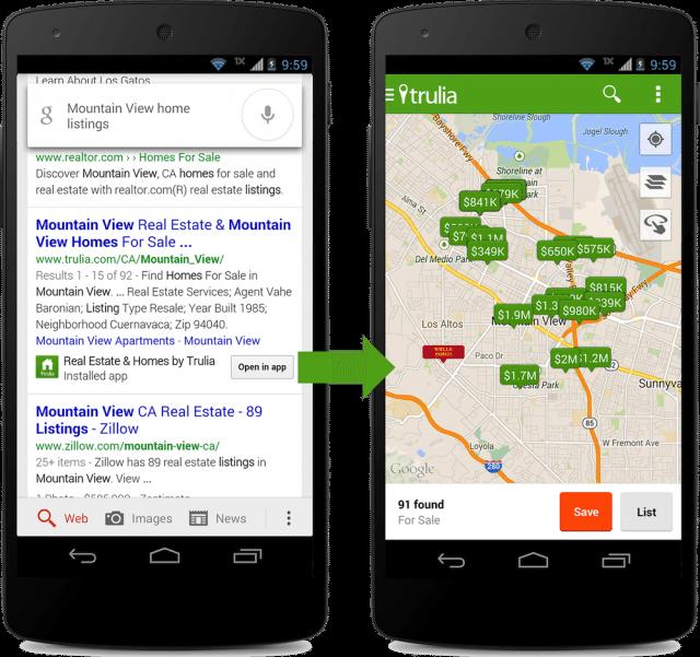ウェブのようにスマホアプリをインデックスするGoogleの取り組みに注目 【@maskin】