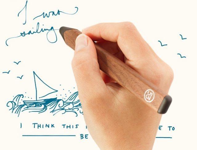 53「Pencil」、人気アプリPaper連携で快適に描くために生まれたハイテクペン 【@maskin】