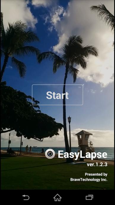 ブレイブテクノロジー、タイムラプス撮影ができるカメラアプリ「EasyLapse」  @maskin #appexpo
