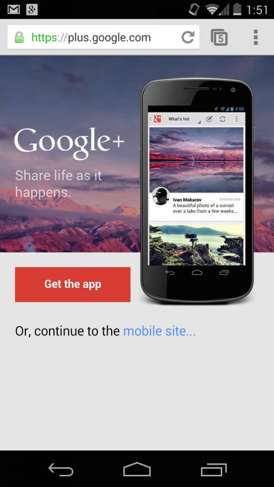 Googleのインタースティシャル(全画面)広告、ウェブとアプリの違いに注意を【@maskin】