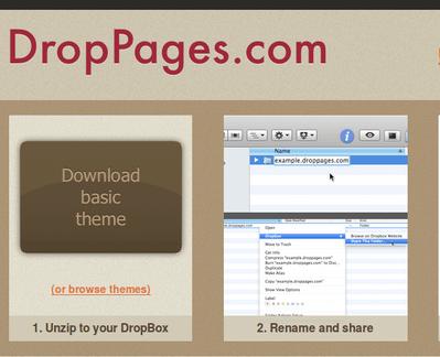 DropBoxのファイルを編集するだけで更新できるCMSホスティング「DropPages」   【増田(@maskin)真樹】