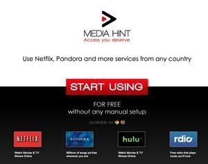 「Media Hint」NetFlix、PANDORA、rdioを日本から利用できるようにするプラグイン 【増田 @maskin】