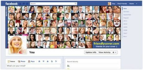 Timelineのカバー画像を友達アイコンで埋める「Friendly Cover」  【増田(@maskin)真樹】