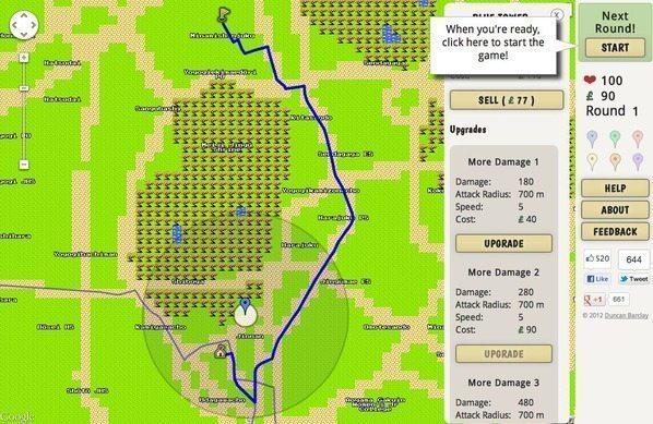 ドラクエ仕様のGoogle Mapで本当に遊べるゲームが登場 【増田(@maskin)真樹】