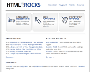 GoogleがHTML5の実験場を公開、学習からコードの実行まで 【増田(maskin)真樹】