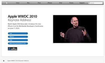 ジョブズ氏「iPhone 4.0は右手で持ちましょう」…受信感度に問題か 【増田(maskin)真樹】
