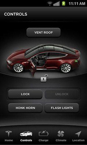 電気自動車「テスラ」モデルS、アプリでドアロック & 組み込みソフトのオンラインアップデートも 【増田 @maskin】