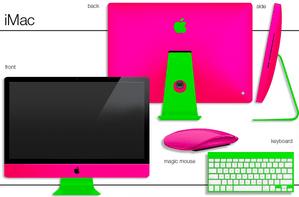 思いもよらない色彩でMac/iPhoneをフル・ペイントしてくれるサービス 【maskin】