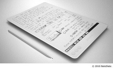 これは欲しい→「NoteSlate」保存もできる電子ノートパッドが99ドルで登場 【増田(@maskin)真樹】