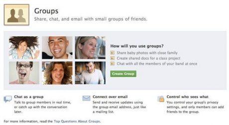 Facebookさらなるオープン化とグループ機能を発表【ループス斉藤徹】