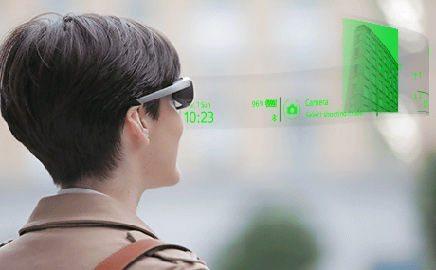 「イノベーション共創会議 Vol.2」 透過式メガネ型端末「ソニー SmartEyeglass」 【@maskin】
