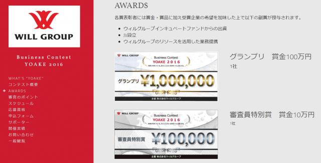 出資・JV設立・テストマーケティング・施設利用券・クラウドファンディング…さまざまな権利を得るビジネスコンテスト【@masaki_hamasaki】