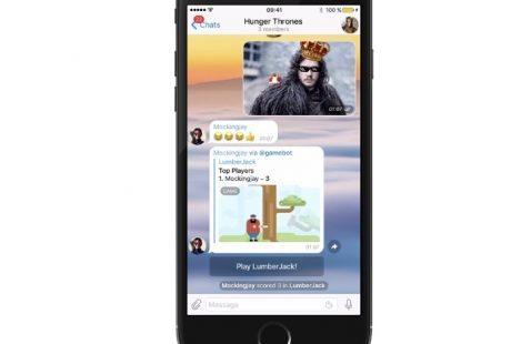 ソシャゲの戦場はボットへ? Telegramメッセンジャー、HTML5ベースのゲームプラットフォームを公開 【@maskin】