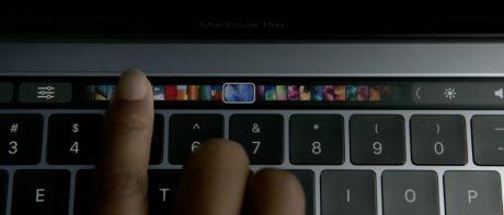 最も薄く軽量な新MacBook Proシリーズ、TouchBar搭載 【@maskin】
