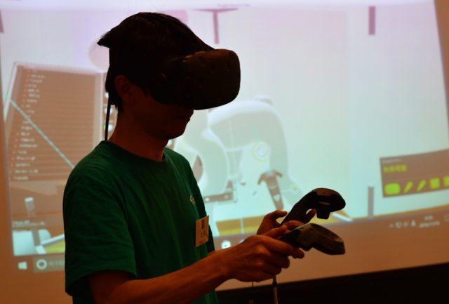 Unityが仮想空間構築ツール「Editor VR」を日本初公開 【@maskin】 #jvrs #jvrs2
