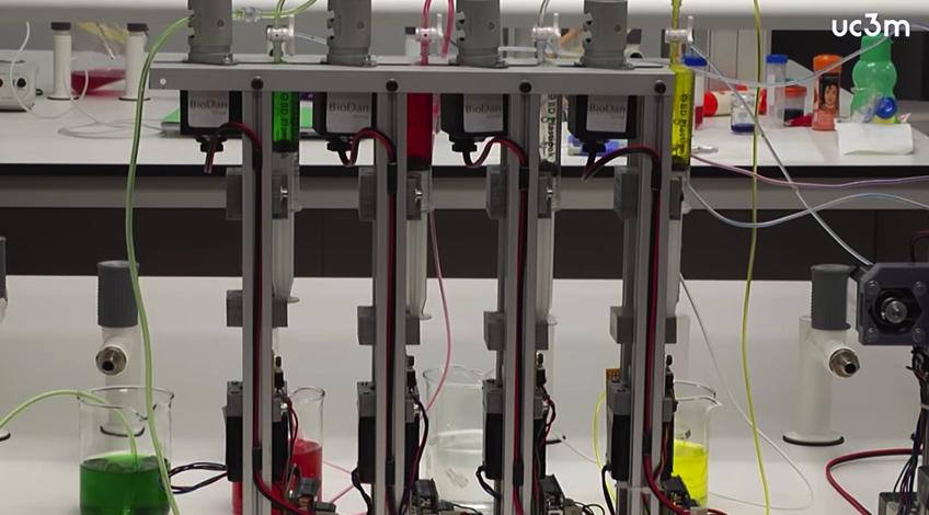人の皮膚を作製できる3Dプリンタ、スペイン国内大学の科学者が発表 @maskin