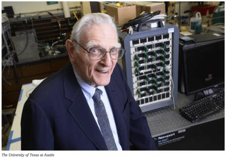 安全かつ数分で充電可能な3倍密度の新技術、リチウムイオン電池の発明者が発表 @maskin