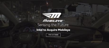 Intelが後付け搭載可能の自動運転システムに参入、MobileEyeをイスラエルスタートアップシーン最高額1.75兆円で買収し自動運転部門を統合 @maskin