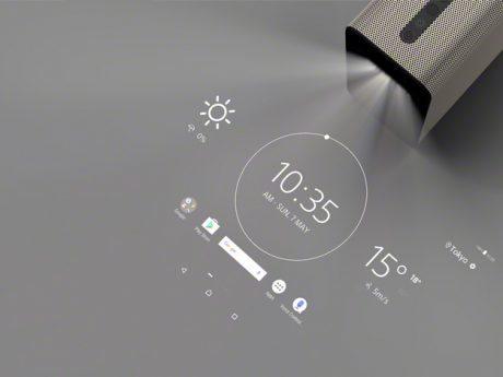 プロジェクター型Android端末 「Xperia Touch」は大ヒットになる可能性も