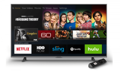 米AmazonがAlexa対応の格安4K UHDテレビを発売、Fire TV内蔵で449.99ドルから