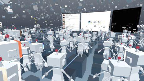 数千人規模のVRソーシャルイベントを実現する「cluster.」が2億円の資金調達&エイベックスと資本業務提携 #EnterTech