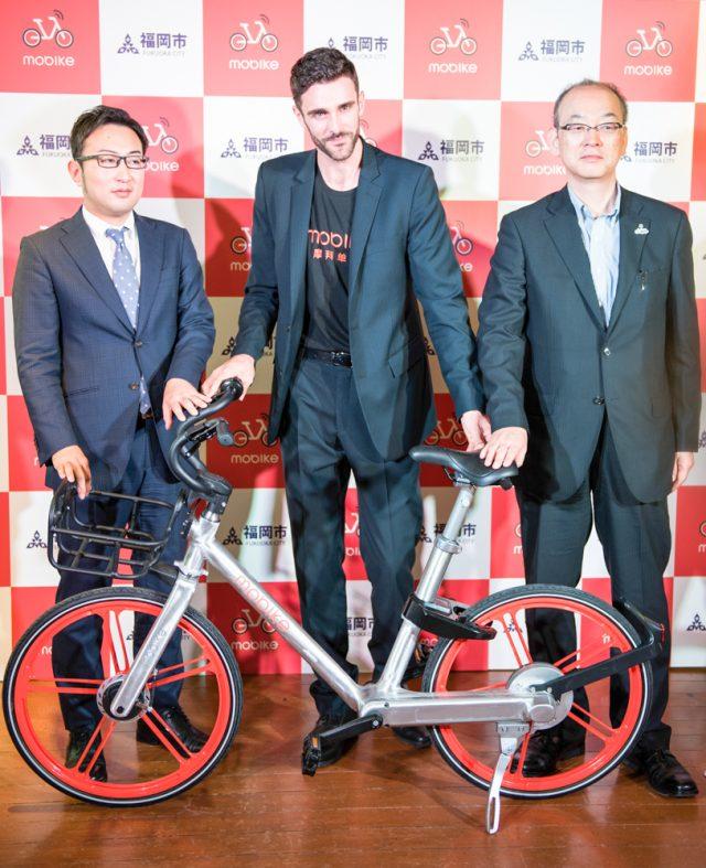 日本参入した中国「モバイク(mobike)」の評価額は30億ドル @MobikeJpn