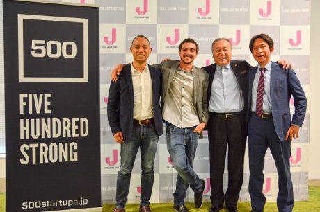 500 Startups Japan 1号ファンドがクローズ、クールジャパン機構が11億円出資