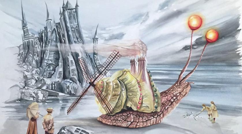 絵画の世界へのVR没入体験、バルセロナのアーティストが五感を駆使して表現