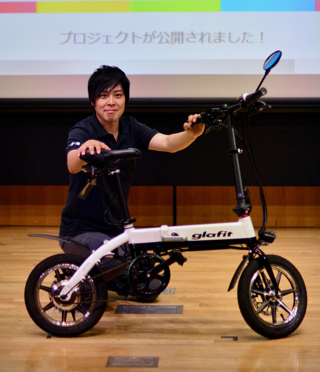 Glafitスマートバイクがクラウドファンディング日本最高額達成、ソニーのwenaを超える