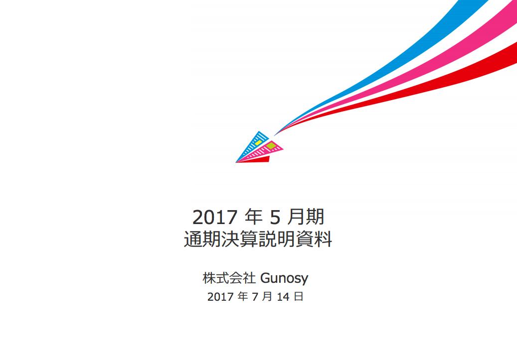 Gunosy 決算、来期以降「非ニュース領域」を拡大
