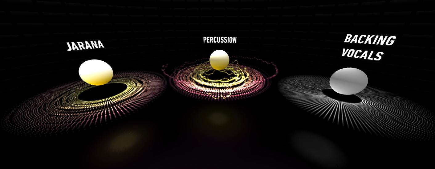 WebVRを使った没入型音楽体験、Googleが実験サイト「Inside Music」公開