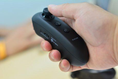 エレコムがAR/VR本格参入、iOS/Android両対応VROOMモーションコントローラーで新たな楽しみ方を創造