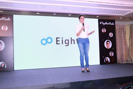 Sansanがアジア進出、第一号はインドで名刺アプリEightを展開