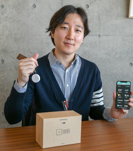 7つのセンサーを搭載する新デバイス「MicroBot Sense(マイクロボット・センス)」日本上陸、韓国NARAN社 CEOに聞く