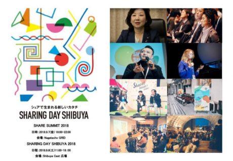 シェアリングエコノミーの祭典「SHARING DAY 2018」今年も開催へ