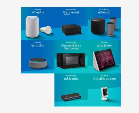 Echo Showだけじゃない、アメリカではAlexa対応電子レンジなど続々登場