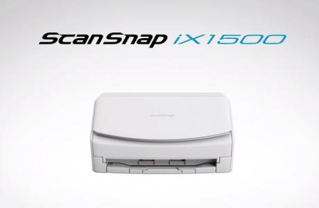 PFU、6年ぶり新世代ScanSnap iX1500登場  #ScanSnap