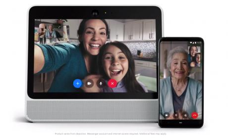 Facebookがスマートスクリーン「Portal」を2018年11月出荷へ、Alexa対応ビデオチャット専用機199ドルから