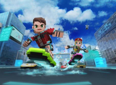 トランスリミットが新グローバルタイトル「Highway Surf」を配信開始 3D・ボクセルデザインでカジュアルゲームに再挑戦