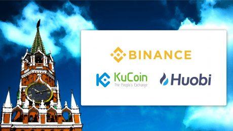 ロシアが大手仮想通貨取引所を惹きつける理由〜Binance、Huobi、KuCoinのロシア市場進出〜